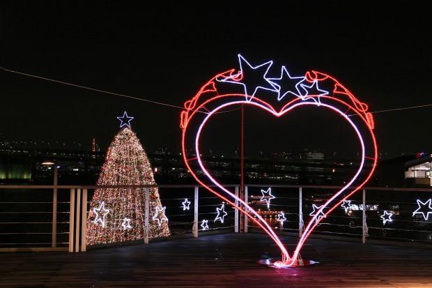 お台場クリスマス(Xmas)イルミネーション022