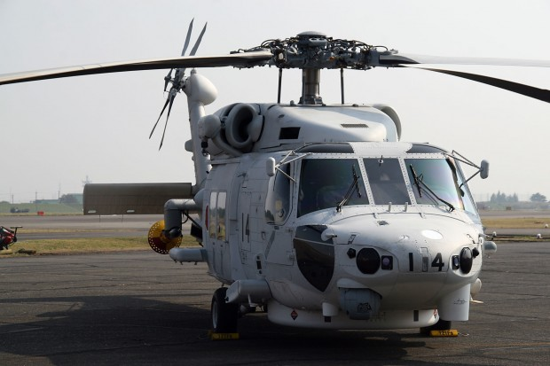 SH-60ヘリコプター無料写真素材027