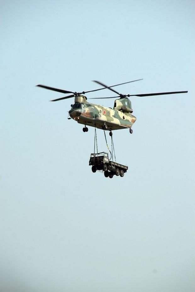 輸送ヘリコプター無料写真素材031