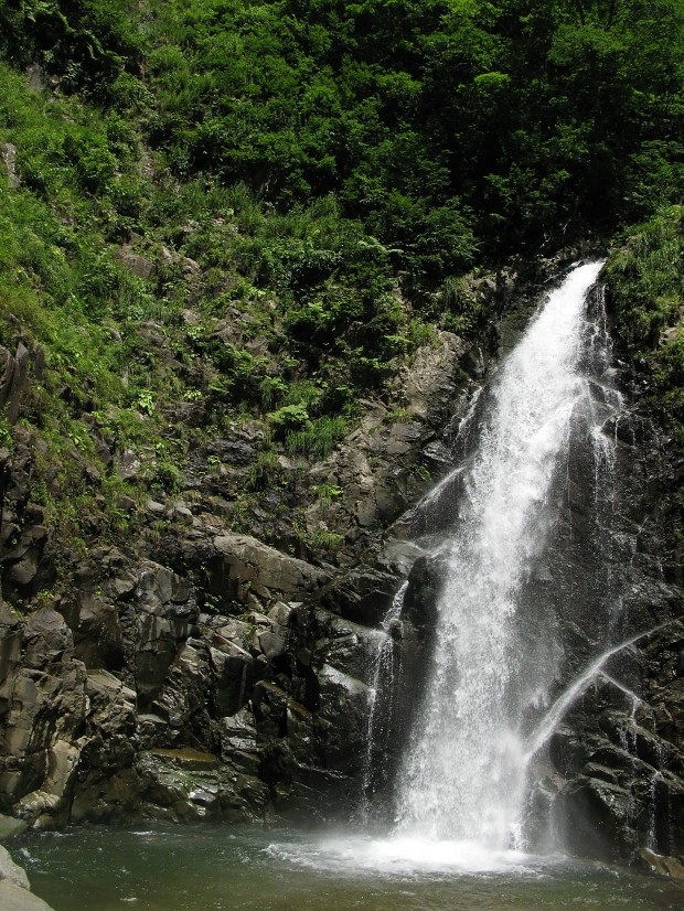 滝、森林、無料写真素材003
