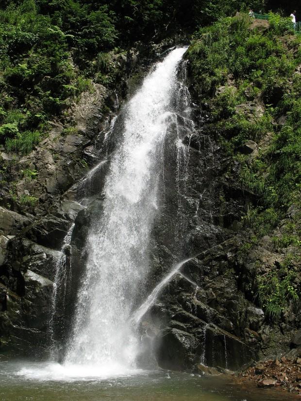 滝、森林、無料写真素材004