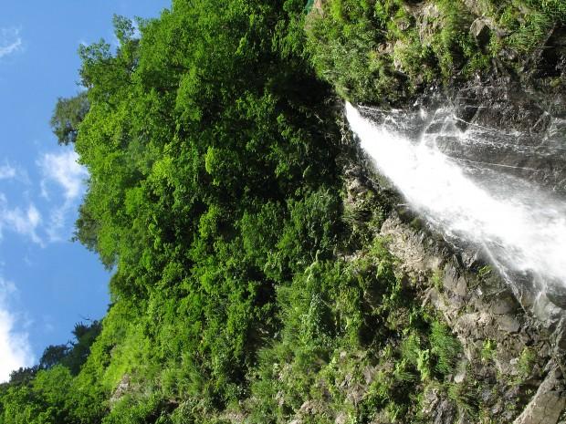 滝、森林、無料写真素材006