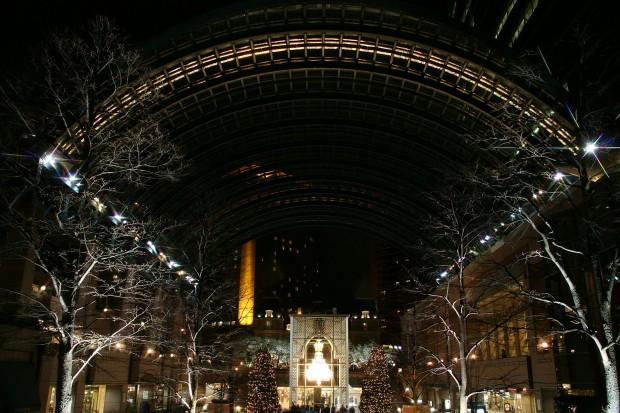 恵比寿ガーデンプレイス(バカラシャンデリア)Xmas無料写真素材014