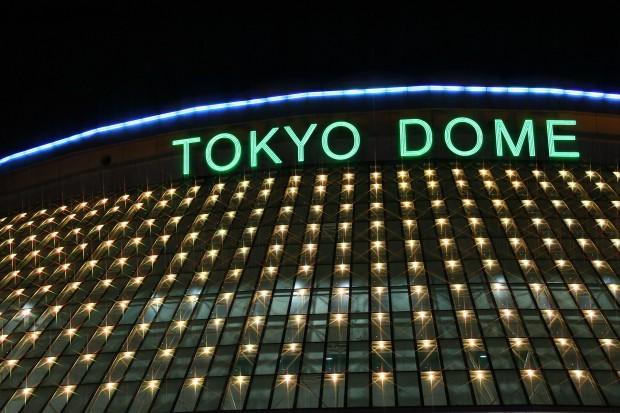 後楽園、東京ドームXmasイルミネーション無料写真素材031