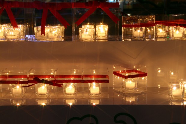 後楽園、蝋燭クリスマスイルミネーション無料写真素材065