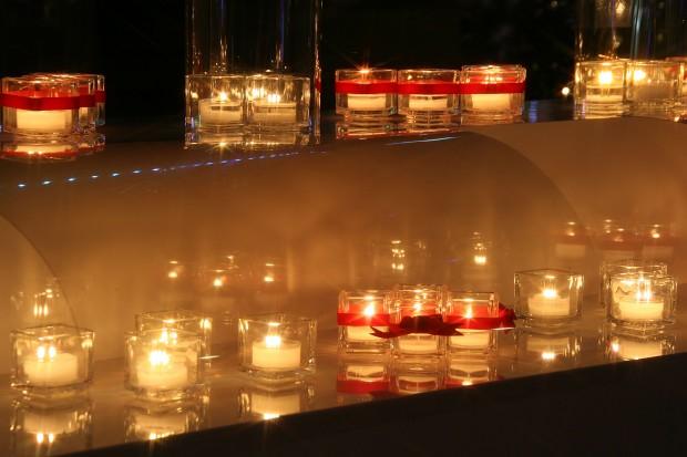 後楽園、蝋燭Xmasイルミネーション無料写真素材067