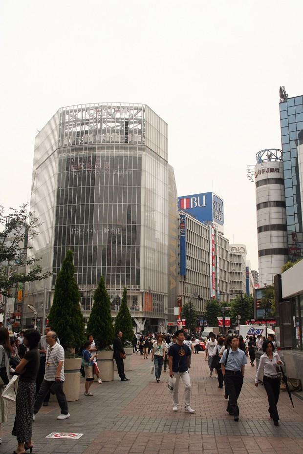 渋谷駅前(ハチ公口)フリー写真素材003