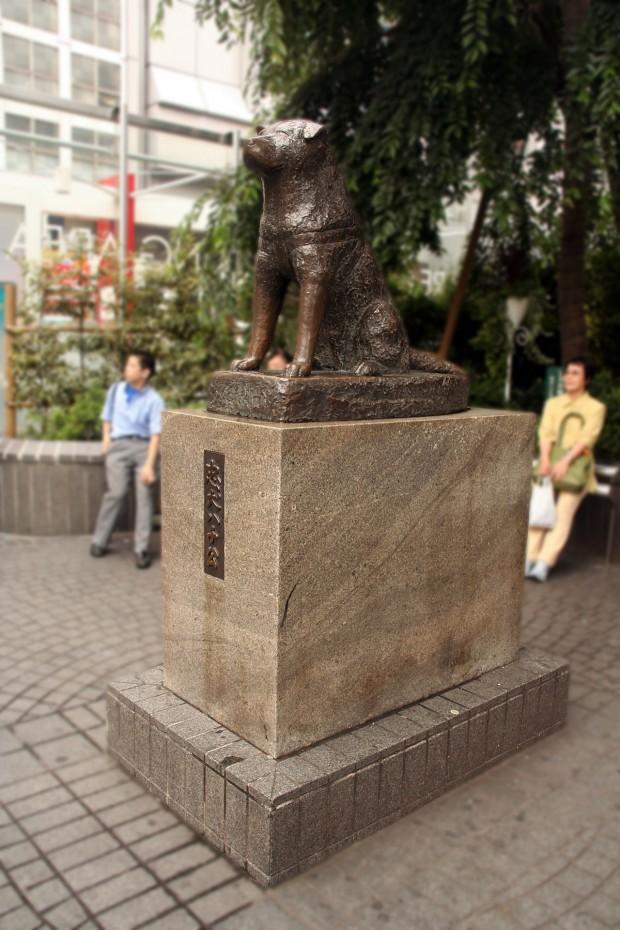 渋谷駅前(忠犬ハチ公)フリー写真素材011