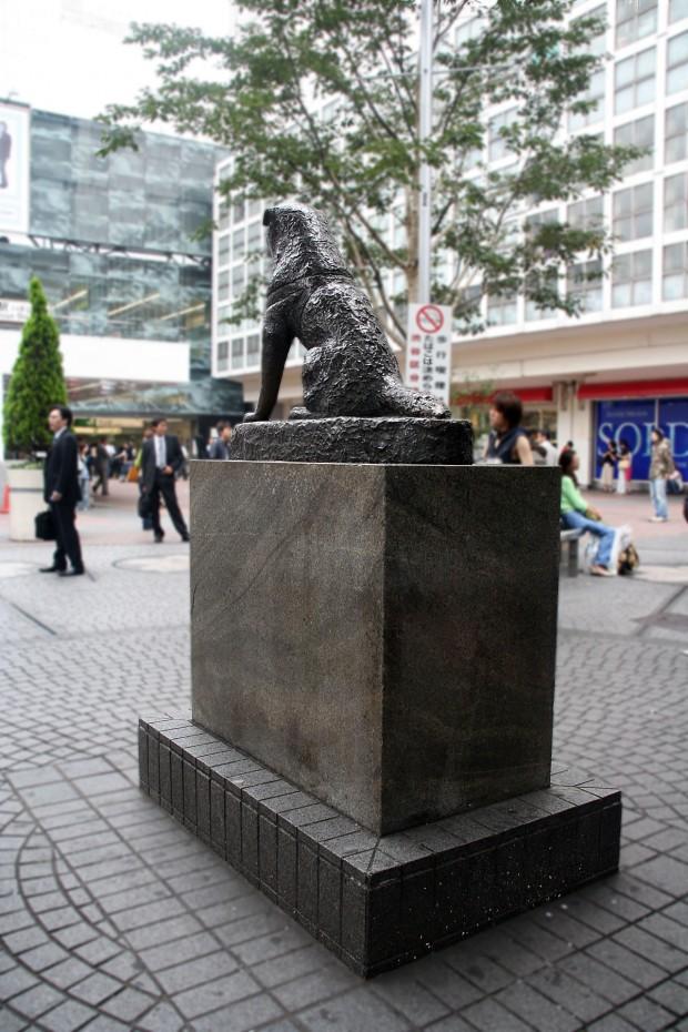 渋谷(忠犬ハチ公)フリー写真素材031