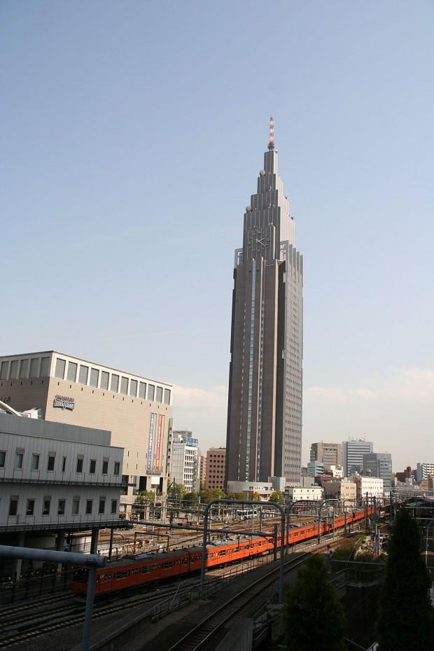 新宿南口(ドコモタワー)フリー写真素材042