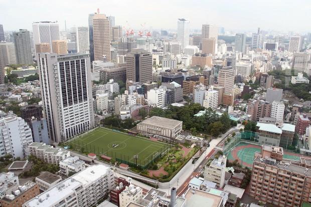 高層ビル風景、町並みの無料写真素材003