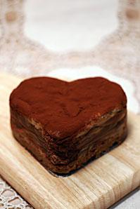 バレンタインデー・チョコレートケーキサムネイル
