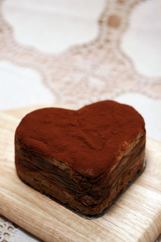 バレンタインデー・チョコレートケーキ、フリー写真素材004