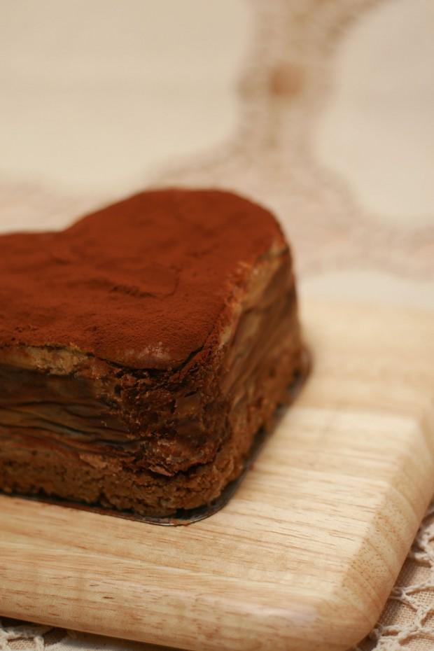 バレンタインデー・チョコレートケーキ、フリー写真素材007