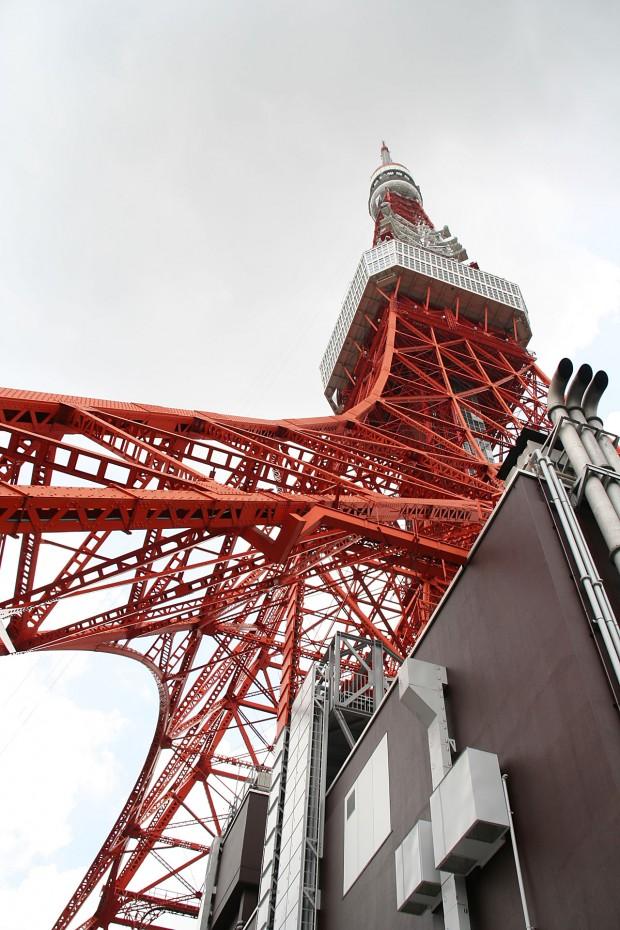 東京タワー(日本電波塔)無料写真素材011