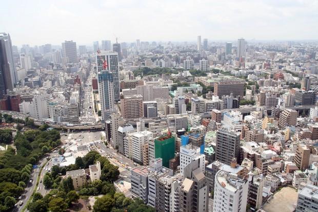高層ビル風景、町並みの無料写真素材012