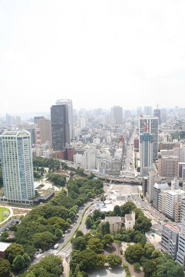 高層ビル風景、町並みの無料写真素材014