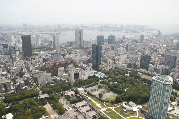 高層ビル風景、町並みの無料写真素材022