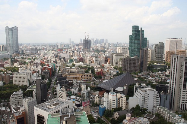 高層ビル風景、町並みの無料写真素材038