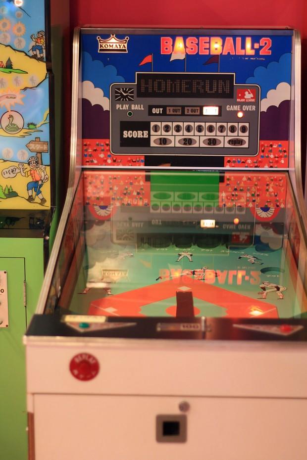 昭和のゲーム機(ベースボール)フリー写真素材002
