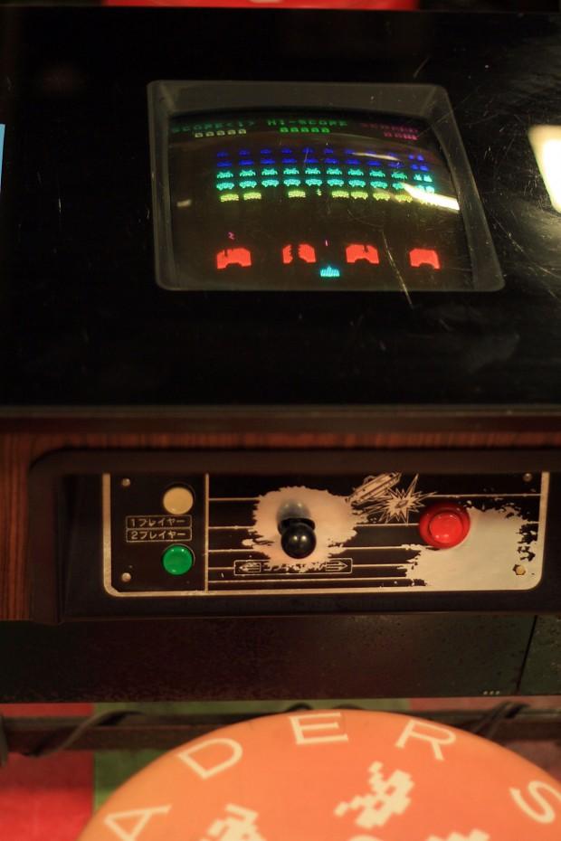昭和のゲーム機(スペースインベーダー)フリー写真素材012