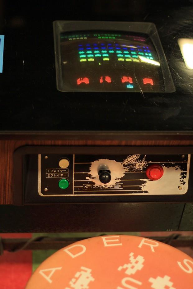 昭和のゲーム機(スペースインベーダー)フリー写真素材013