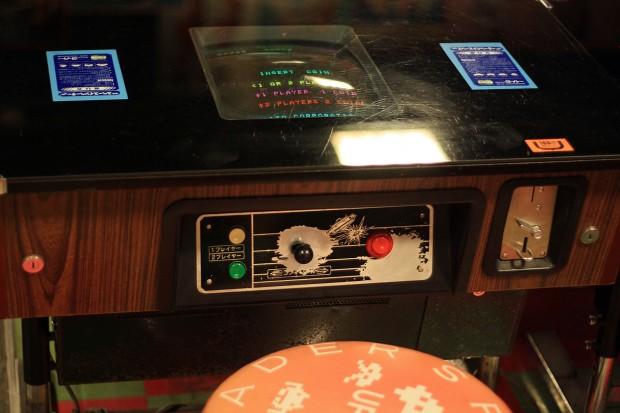 昭和のゲーム機(スペースインベーダー)フリー写真素材014