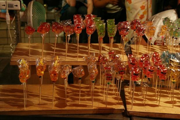 祭り(飴)フリー写真素材092