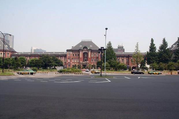東京駅フリー写真素材01