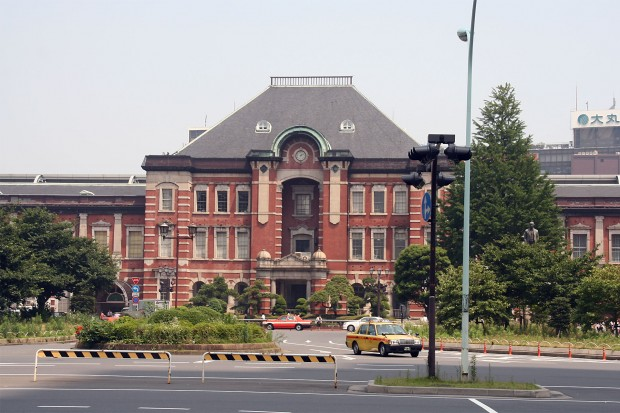 東京駅フリー写真素材03