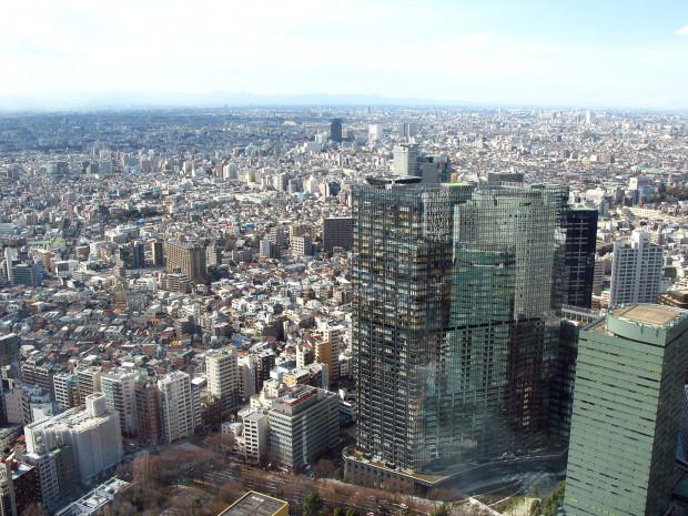 高層ビル風景、町並み042