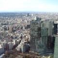 高層ビル町並み風景(新宿都庁ビル)サムネイル
