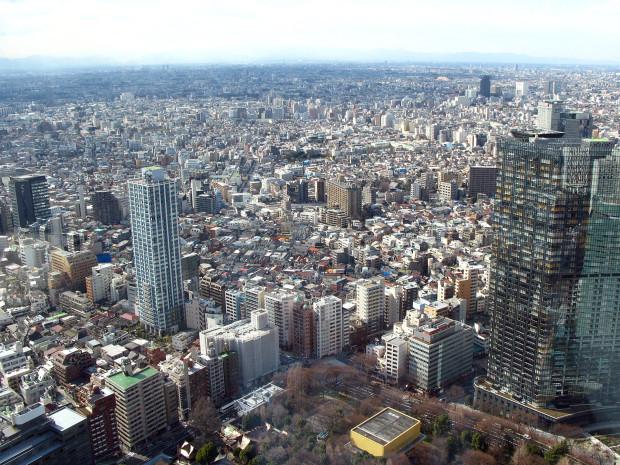 高層ビル風景、町並み043