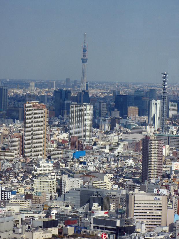 高層ビル風景、町並み052