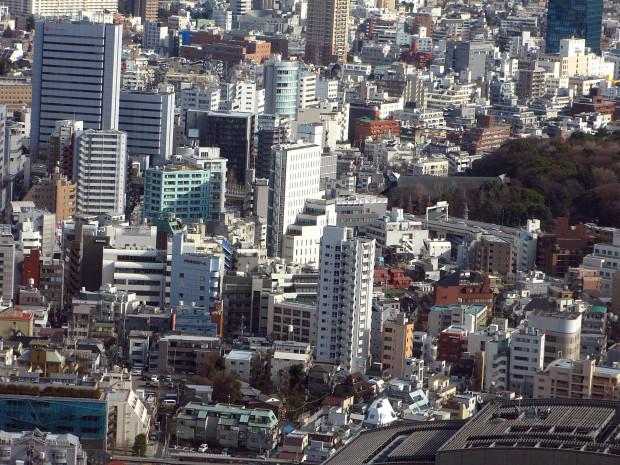 高層ビル風景、町並み055