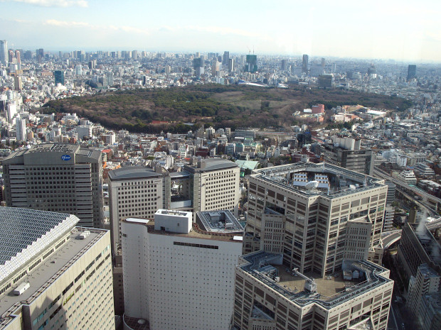 高層ビル風景、町並み059