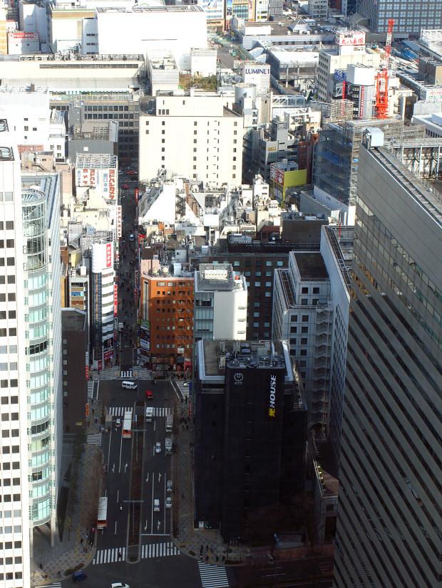 高層ビル風景、町並み064