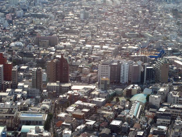 高層ビル風景、町並み071