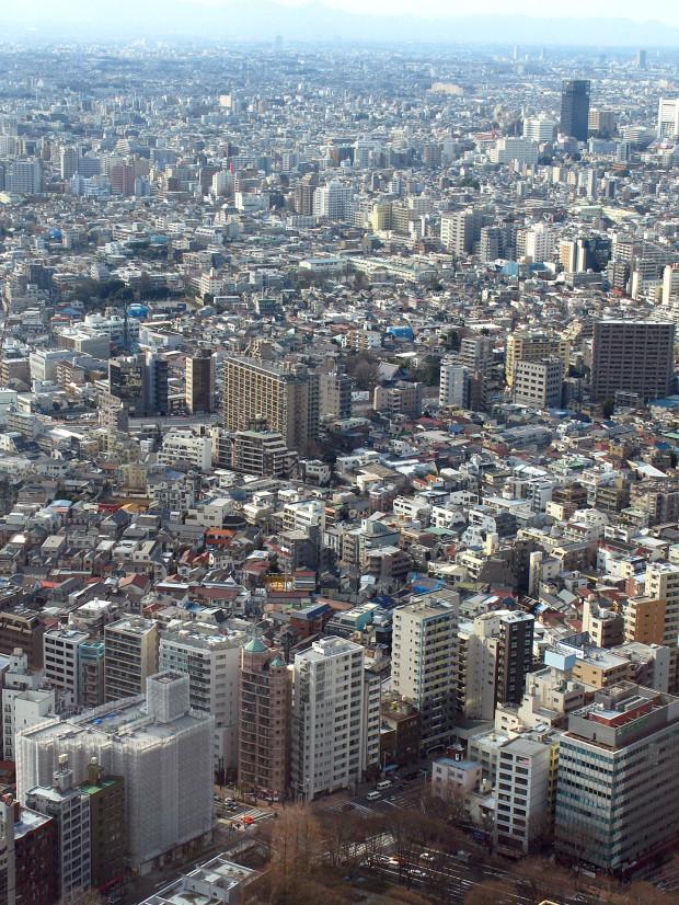 高層ビル風景、町並み072