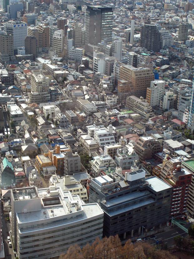 高層ビル風景、町並み073