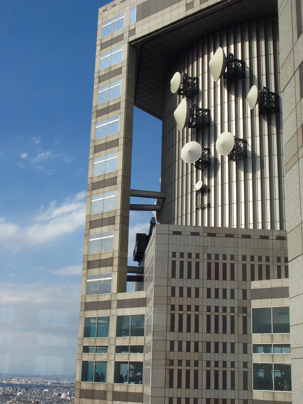 高層ビル風景、町並み075