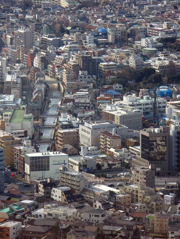 高層ビル風景、町並み077