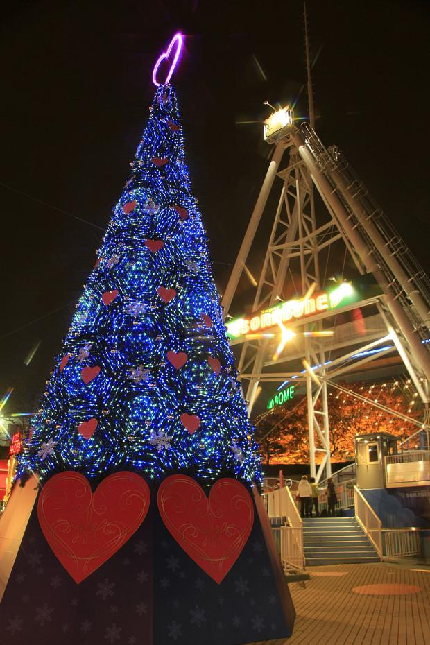 後楽園クリスマス(Xmas)イルミネーション137