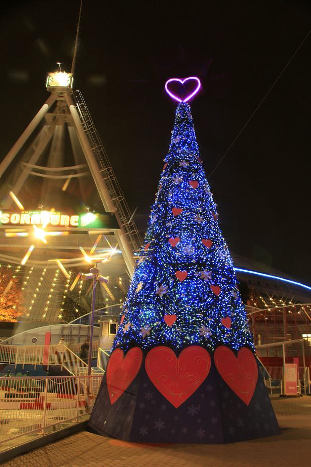 後楽園クリスマス(Xmas)イルミネーション139