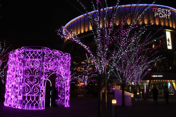 後楽園クリスマス(Xmas)イルミネーション149