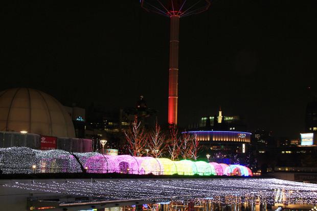 後楽園クリスマス(Xmas)イルミネーション178