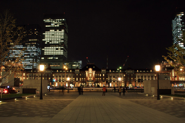 東京駅の夜025