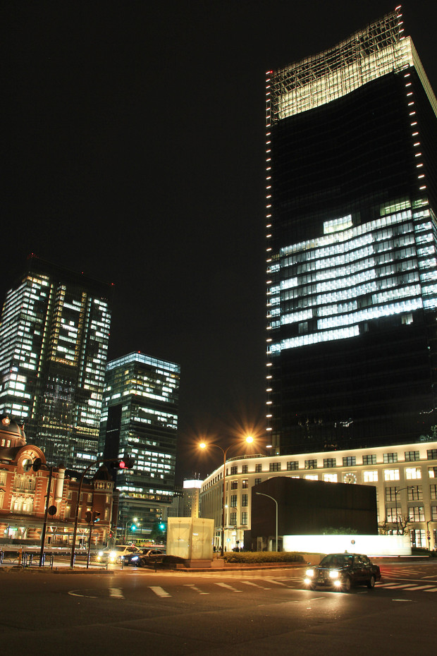 東京駅の夜028