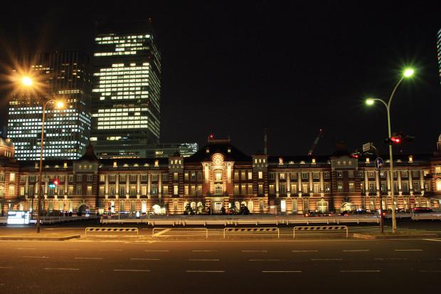 東京駅の夜029