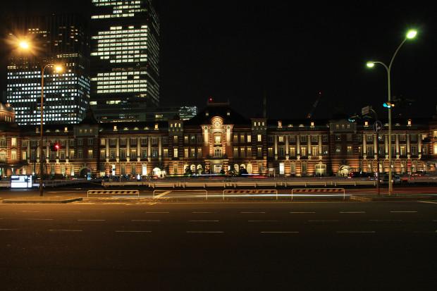 東京駅の夜033